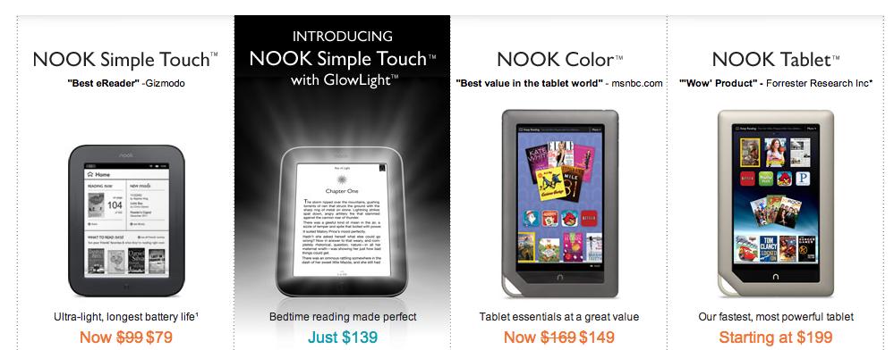 Microsoft met windows 8 in barnes noble nook for Apple 300 dollar book