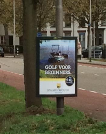 golfbaan-posters