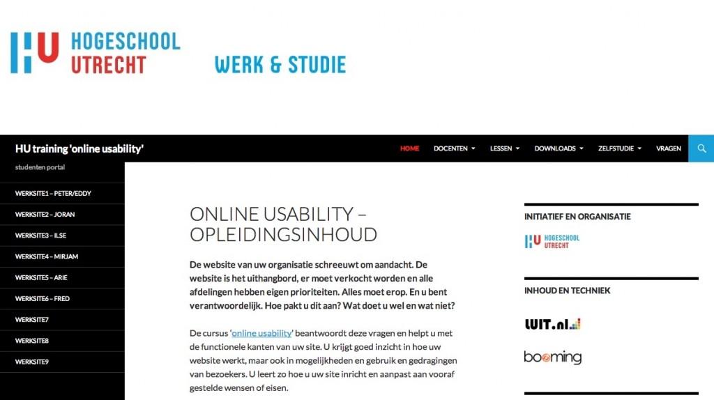 online-usability-van-start
