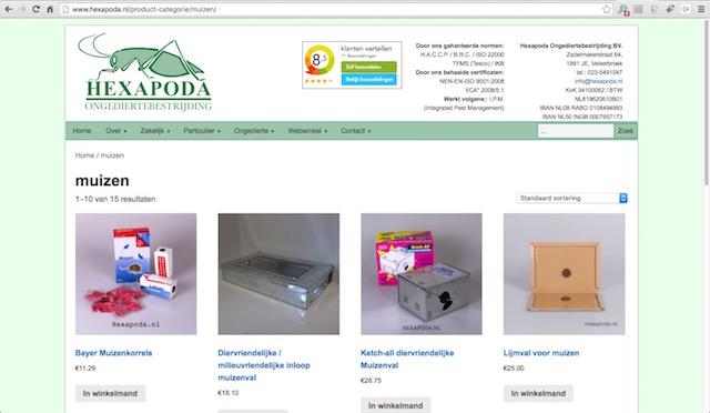 hexapoda-webshop