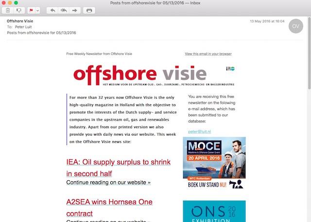offshore-nieuwsbrief