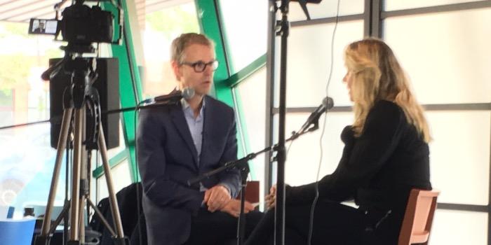 Ronny Overgoor in gesprek met Dolly van den Akker van MPG